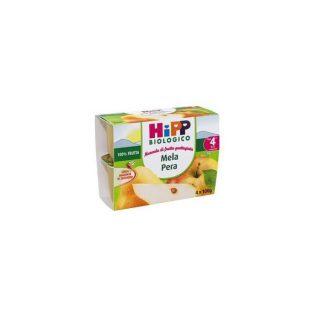 Merenda di frutta grattugiata Mela e Pera Hipp Biologico