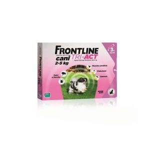 Frontline Triact cani 2-5 Kg