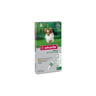 advantix spot on cani fino a 4 kg